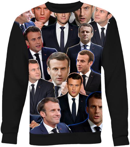 Emmanuel Macron sweatshirt