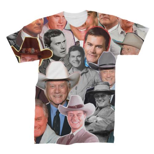 Larry Hagman t-shirt