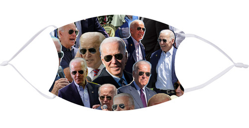 Joe Biden Collage Face Mask with Filters