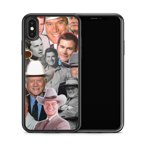 Larry Hagman phone case X