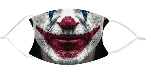 Joker Face Mask with Filters