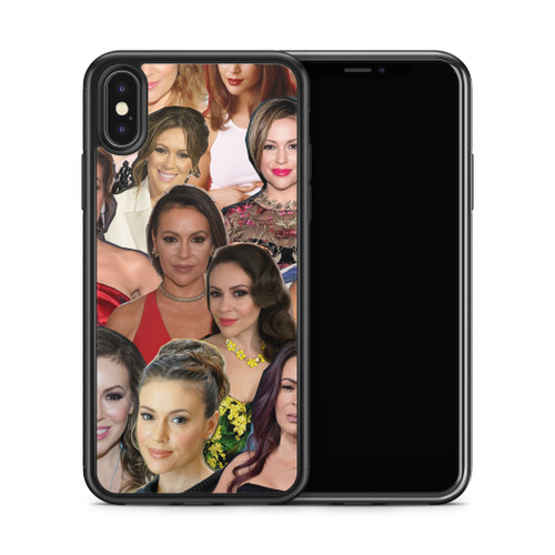 Alyssa Milano phone case X