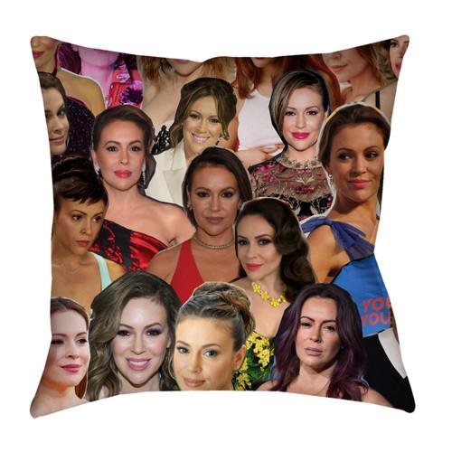 Alyssa Milano pillowcase