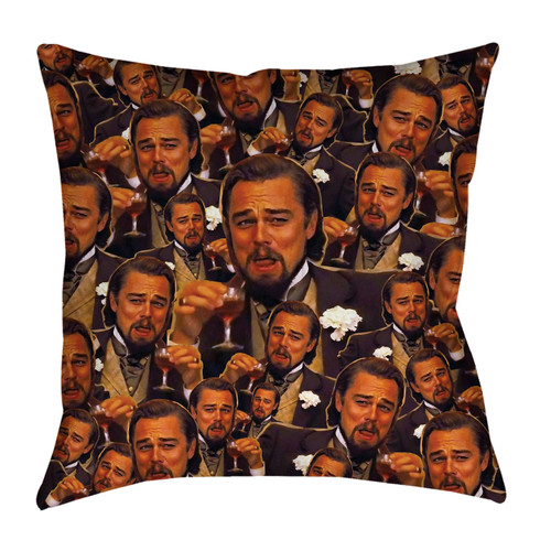 Leonardo Dicaprio Meme Pillowcase