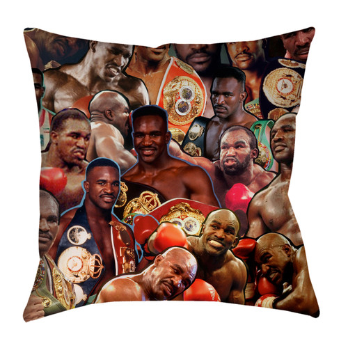 Evander Holyfield pillowcase