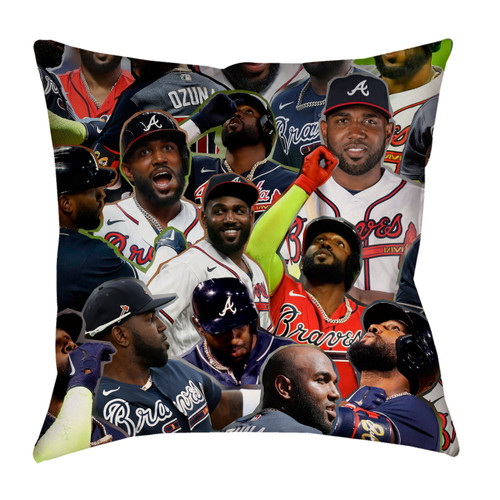 Marcell Ozuna pillowcase