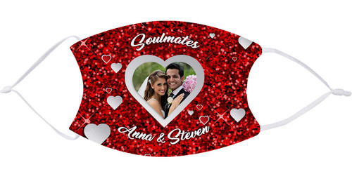 Custom Valentine's Day Face mask