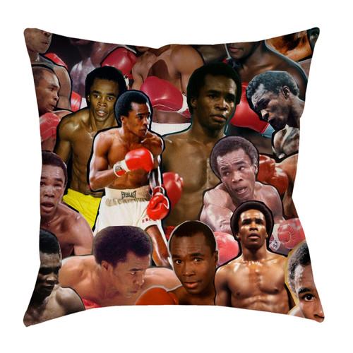 Sugar Ray Leonard pillowcase