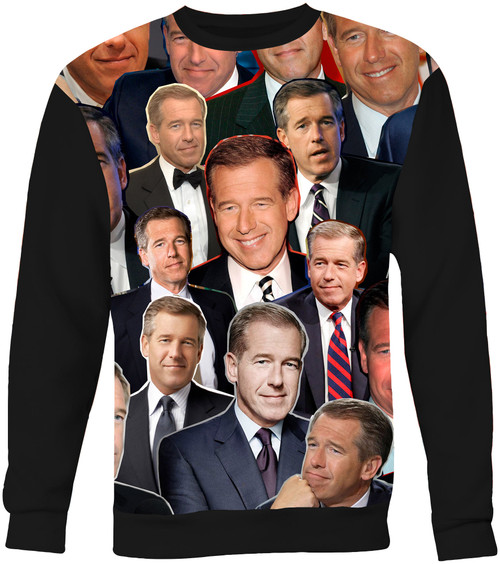 Brian Williams sweatshirt