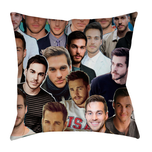 Chris Wood pillowcase