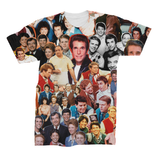 Happy Days Photo Collage T-Shirt