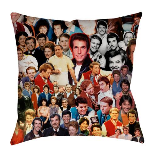 Happy Days Photo Collage Pillowcase