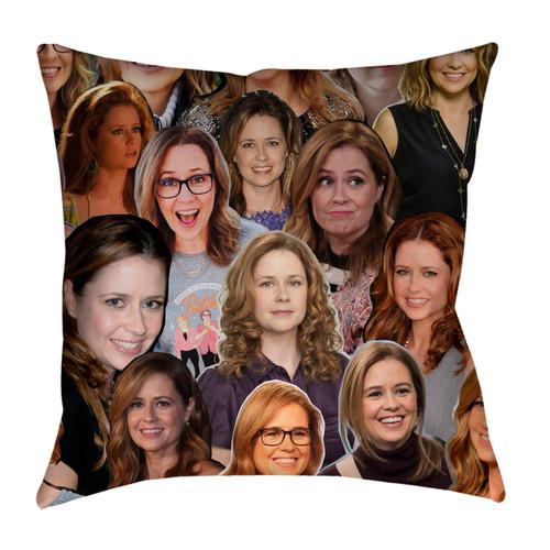 Jenna Fischer Photo Collage Pillowcase