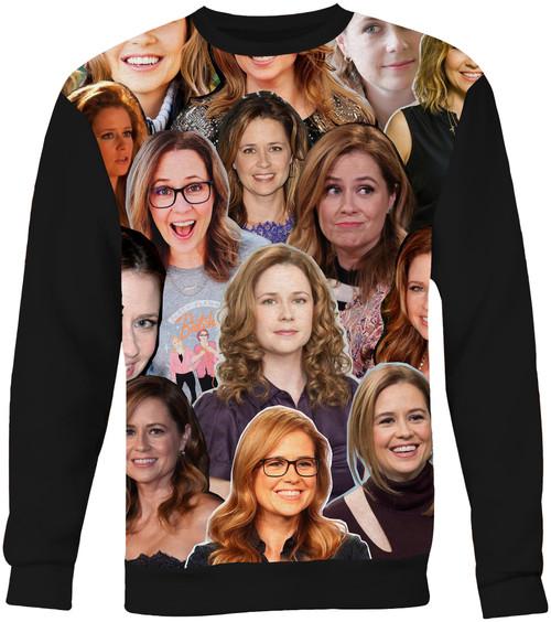 Jenna Fischer Collage Sweater Sweatshirt