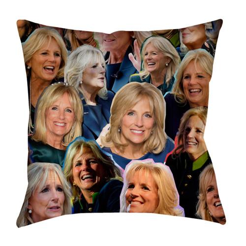 Jill Biden Photo Collage Pillowcase