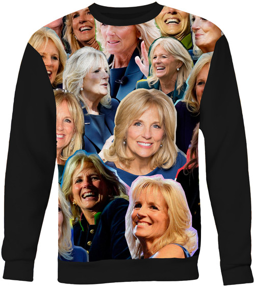 Jill Biden Collage Sweater Sweatshirt