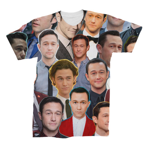 Joseph Gordon-Levitt Photo Collage T-Shirt