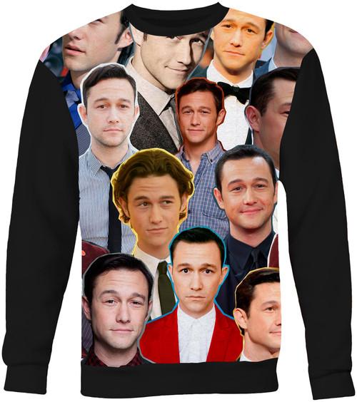 Joseph Gordon-Levitt Collage Sweater Sweatshir