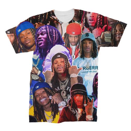 King Von Photo Collage T-Shirt