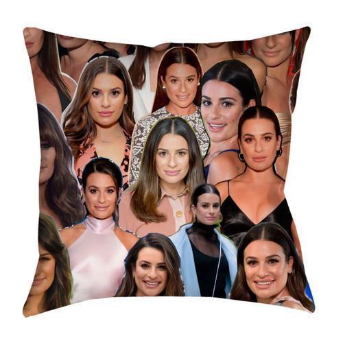Lea Michele Photo Collage Pillowcase
