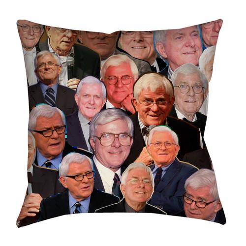 Phil Donahue Photo Collage Pillowcase