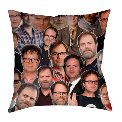 Rainn Wilson Photo Collage Pillowcase