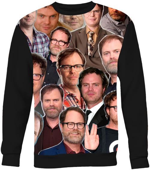 Rainn Wilson Collage Sweater Sweatshirt