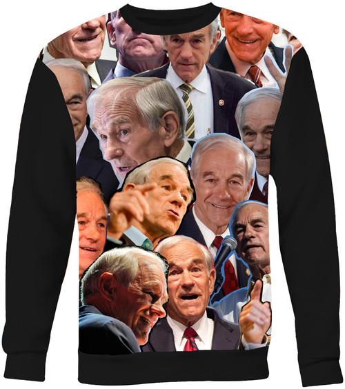 Ron Paul Collage Sweater Sweatshirt
