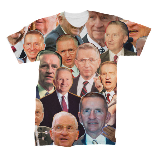 Ross Perot Photo Collage T-Shirt