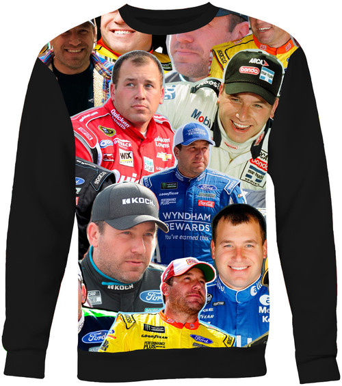 Ryan Newman Collage Sweater Sweatshirt