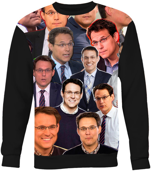 Steve Kornacki Collage Sweater Sweatshirt
