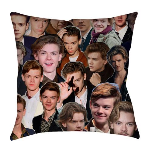Thomas Brodie-Sangster Photo Collage Pillowcase