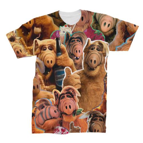 Alf Photo Collage T-Shirt