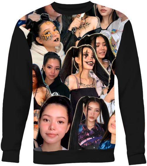 Bella Poarch Collage Sweater Sweatshirt
