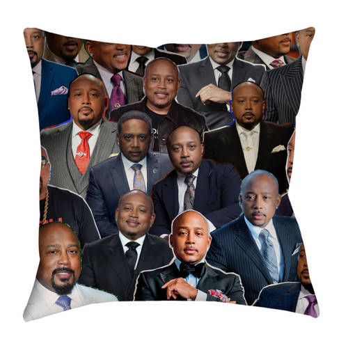 Daymond John Photo Collage Pillowcase
