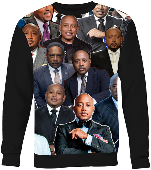 Daymond John Collage Sweater Sweatshirt
