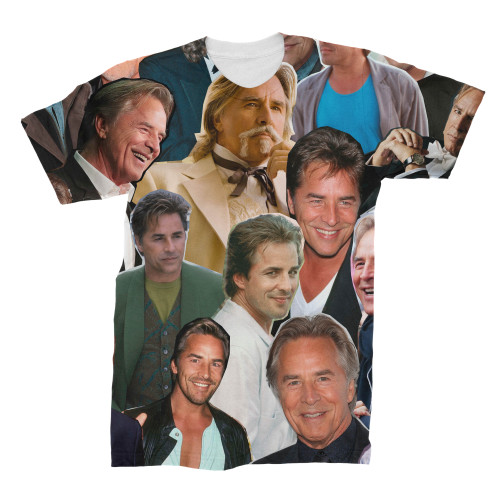 Don Johnson Photo Collage T-Shirt
