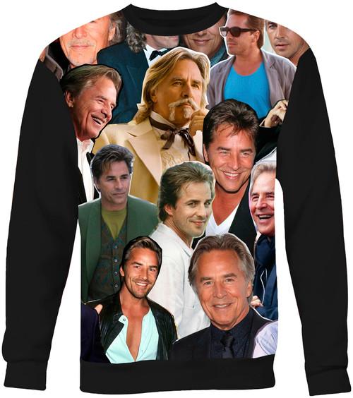 Don Johnson Collage Sweater Sweatshirt