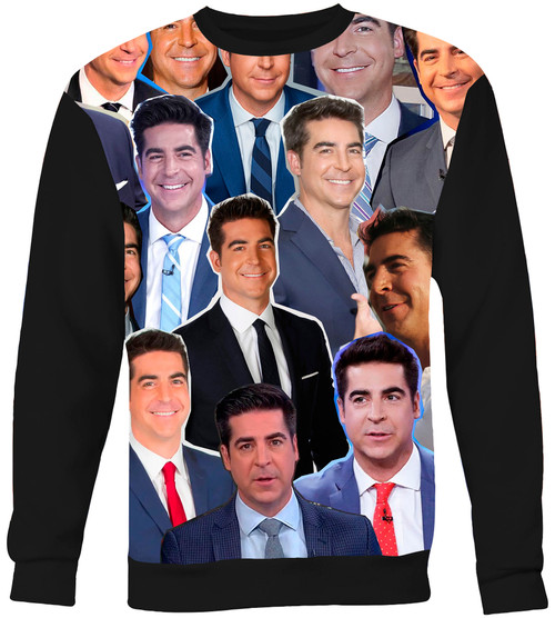Jesse Watters Collage Sweater Sweatshirt