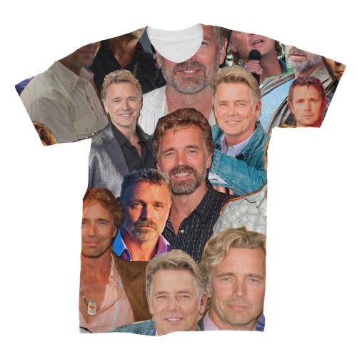 John Schneider Photo Collage T-Shirt