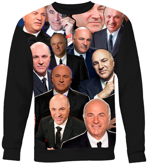 Kevin O'Leary Collage Sweater Sweatshirt