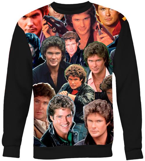 Knight Rider Collage Sweater Sweatshirt