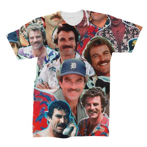 Magnum P.I. Photo Collage T-Shirt