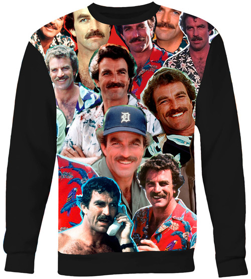 Magnum P.I. Collage Sweater Sweatshirt
