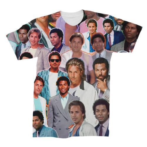 Miami Vice Photo Collage T-Shirt