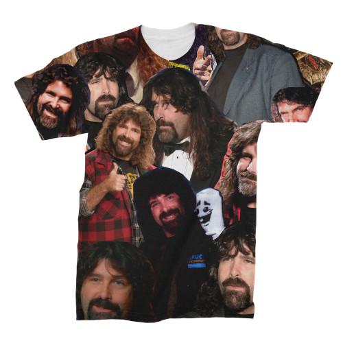 Mick Foley Photo Collage T-Shirt