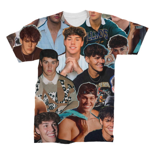 Noah Beck Photo Collage T-Shirt