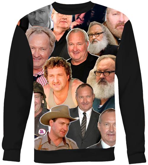 Randy Quaid Collage Sweater Sweatshirt