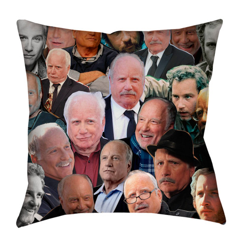 Richard Dreyfuss Photo Collage Pillowcase