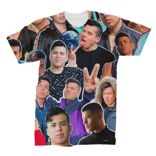 Spencer X (Spencer Knight) Photo Collage T-Shirt